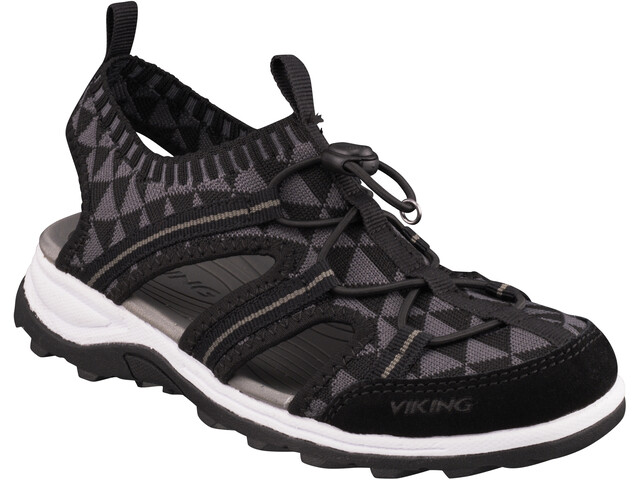 Viking Footwear Ulvik Sandals Kids black/charcoal